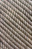 Grunge twisted rope texture Royalty Free Stock Photography