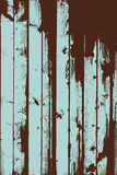 Grunge two colors wooden wall pattern Stock Photography