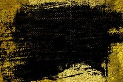 Grunge tynku betonu Ultra żółta tekstura, kamień powierzchnia, kołysa krakingowego tło dla pocztówki Fotografia Royalty Free
