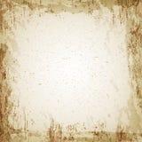 Grunge uitstekende document textuur, vectorachtergrond Royalty-vrije Stock Foto