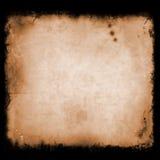 Grunge, uitstekende, oude document achtergrond illustratie van oude, versleten en bevlekte papierafvaltextuur Voor uw ontwerp Stock Foto's