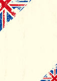 Grunge UK Arkivfoto
