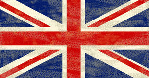 Grunge UK flag Royalty Free Stock Image