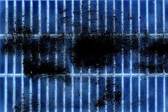 Grunge Ultra błękitnej stali zmielona kratownica Stali nierdzewnej tekstura, tło dla strony internetowej lub urządzenia przenośne Obraz Royalty Free