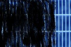 Grunge Ultra błękitnej stali zmielona kratownica Stali nierdzewnej tekstura, tło dla strony internetowej lub urządzenia przenośne Fotografia Royalty Free