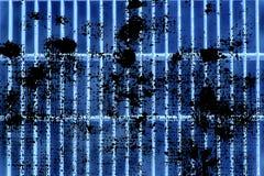 Grunge Ultra błękitnej stali zmielona kratownica Stali nierdzewnej tekstura, tło dla strony internetowej lub urządzenia przenośne Obraz Stock
