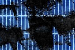 Grunge Ultra błękitnej stali zmielona kratownica Stali nierdzewnej tekstura, tło dla strony internetowej lub urządzenia przenośne Zdjęcia Stock