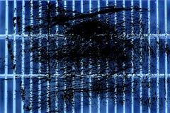 Grunge Ultra błękitnej stali zmielona kratownica Stali nierdzewnej tekstura, tło dla strony internetowej lub urządzenia przenośne Zdjęcie Royalty Free