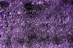 Grunge Ultra purple Ground texture, sand surface, stone background, good for design element. S royalty free stock images