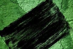 Grunge Ultra zieleni tynku betonu tekstura, kamień powierzchnia, kołysa krakingowego tło dla pocztówki Fotografia Royalty Free