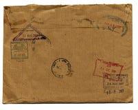 Grunge Umschlag Lizenzfreies Stockbild