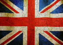 Grunge Union flag Stock Photos