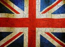 Grunge Union flag stock photos
