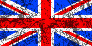 Grunge Union Jack flag Royalty Free Stock Photos