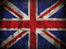 Grunge Union Jack flag background Royalty Free Stock Image