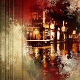 Grunge urban background Stock Images