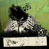 Grunge urban design Royalty Free Stock Photo