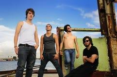 Grunge urban fashion team Royalty Free Stock Image