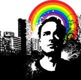 Grunge urbano libre illustration