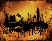 Grunge urbano stock de ilustración