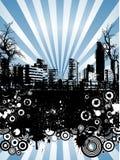 Grunge urbano ilustração royalty free