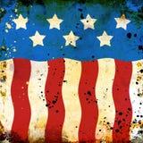Grunge USA background vector illustration