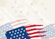 Grunge usa background, vector Royalty Free Stock Images