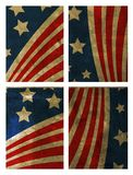 Grunge USA flag. Abstract background Royalty Free Stock Image