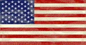 Grunge USA Flag. High detailed distressed grunge Usa flag Stock Photography