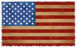 Free Grunge USA Flag Stock Image - 7534941