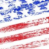 Grunge USA flag. Abstract grunge usa flag. eps10 Stock Photo