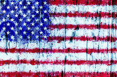 Grunge USA flag background Royalty Free Stock Photography