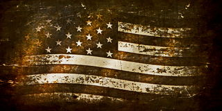 Grunge USA Flag. Backgrounds and texture Royalty Free Stock Image