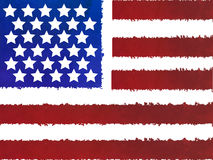 Grunge USA flag Royalty Free Stock Photo