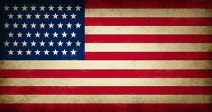 Grunge USA Markierungsfahne Lizenzfreie Stockbilder