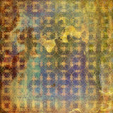 Grunge used paper in scrapbooking style Royalty Free Stock Image