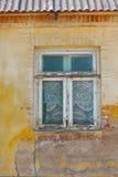 Grunge väggbakgrund Arkivfoton