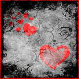 Grunge Valentine Royalty Free Stock Images