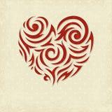 Grunge valentine background Royalty Free Stock Photography