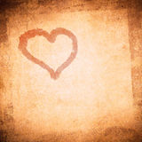 Grunge valentine day background Royalty Free Stock Image