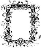 Grunge valentine frame, vector Stock Photography