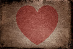 Grunge Valentines Royalty Free Stock Images