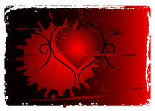 Grunge Valentines abstract bac royalty free stock image