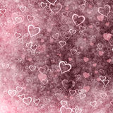 Grunge Valentines Day background Stock Photo