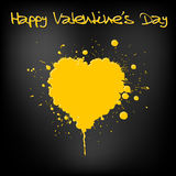 Grunge Valentines day card Royalty Free Stock Photo