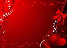 Grunge Valentinsgrüße Hintergrund, Vektor Lizenzfreie Stockfotografie