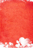 Grunge Valentinsgruß Stockbild