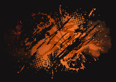 Grunge vector background eps8. Grunge vector background for your advert message Royalty Free Stock Photo