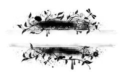 Grunge vector banner Royalty Free Stock Image