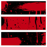 Grunge vector banners Royalty Free Stock Photo